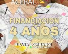 Lotes en Acebal Financiacion a 4 Años