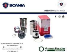 Pistón para Scania 124 de 420hp - Pistón Articulado