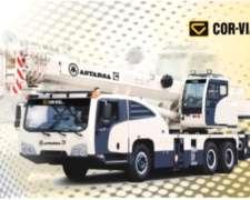 Grúa Sobre Camión AA25 Corvial