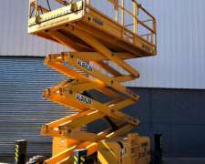 Alquiler Plataforma Elevadora Tijera 15m Haulotte Diesel JLG