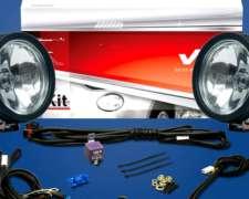 Faro Redondo LUZ Largo Alcance 348 Kit