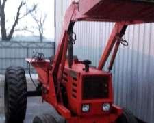 Tractor Zanello UP 100 con Pala Ceibo de Cuchara Grande