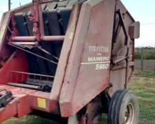 Arrolladora Mainero 5860, Pateador De Rolo Y Monitor Confec.