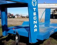 Trailer Carreton Tecnar Mod Tc 6000 5 Mt- 6 Ton - Cigueña