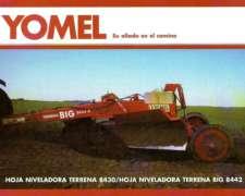 Niveladora Yomel Terrena 8430, Cignoli Hnos Vende