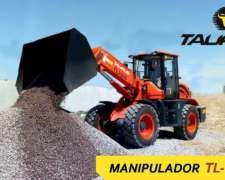 Pala Cargadora Manipulador Telescópico Taurus TL2500 Frontal