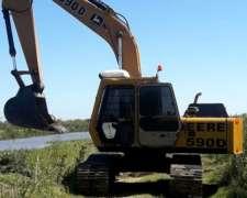 Excavadora John Deere 590d