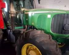 Tractor JD 7515 con Duales año 2007 . 9500 Hs