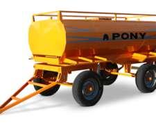 Acoplado Tanque Combustible 3000 Lts. Pony