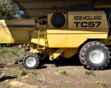 New Holland TC 57 Plataforma 23 Pies