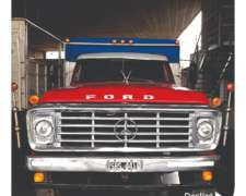 Ford 7000 - año 1977 - Motor 1114