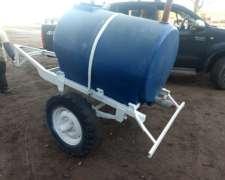 Tanque Apoyo de Agua, 1000 Lts