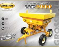 Fertilizadora Grosspal VG 3000