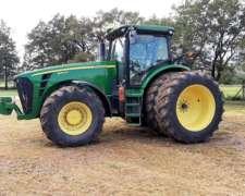 Tractor John Deere 8320r Usa, año 2012