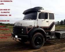 Mercedes 1526 Mod 87 Caja y DIF de 33 Puente Card 38 Permuto