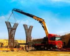 Hidrogrúa Axion E2755 Grúa Articulada