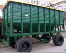 Acoplado Tolva Semillera/fertilizantes Para 14/16 Tn.