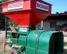 Embutidora De Granos Quebrados Richiger R6-es - A Trabajar
