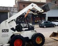 Minicargadora Bobcat S220 - muy BUE Estado