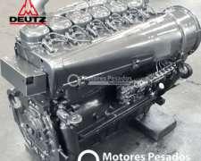 Motor Deutz 913 - 6 Cil. - 120 HP - Rectificado con Garantía