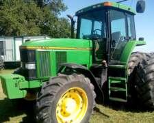 Tractor John Deere 7800 DT
