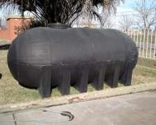 Tanque Plastico 7200 Lts - Agua Gas Oil Apoyo Fumigadora