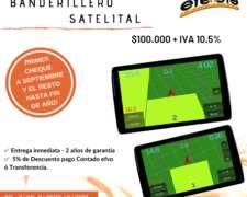 Banderillero Satelital 7 Pulgadas- Instalado con Viáticos