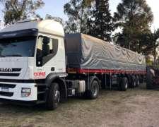 Camión Iveco Stralis 360, Enganchado
