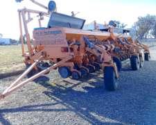 Sembradora Agrometal, TX Mega 18/52, Doble Fertilizacion