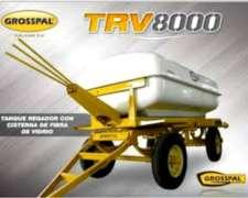 Acoplado Tanque Regador 8.000 de Fibra VTR Grosspal