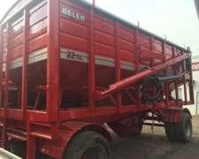 Acoplado Semillero Belen 22 TN C/duales - Nuevo - Rojo