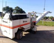Fresadora Wirtgen Sf1000 Año 1986 Financiacion 100%