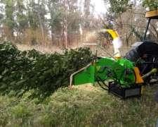 Chips De Madera - Chipeadora Para Tractor - Nueva - Usa