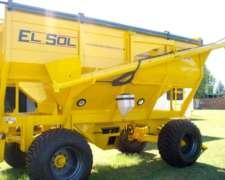 Tolva Fertilizante Y Semillas, 20 Tn, Marca El Sol
