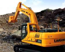 Excavadora Liugong CLG 925d