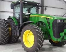 Tractor John Deere 8295r DT, C/piloto,c/duales, 2010