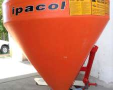 Fertilizadora Ipacol DFD-600 y Distribuidor de Semillas