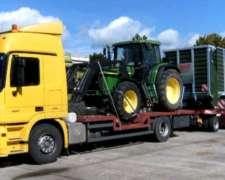 Transporte De Maquinarías Agricolas - Maquinas -cosechadoras