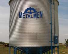 Silo Aereo Cap. 50 TN. Metalmen Colonia Menonita.