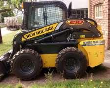 Mini Cargadora New Holland L218