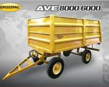 Acoplado AVE 8000 - 6000 Grosspal