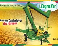 Extractora De Grano Seco Usada Agroar Con Cubiertas