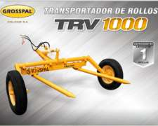 Transportador de Rollos TRV 1000 - Grosspal