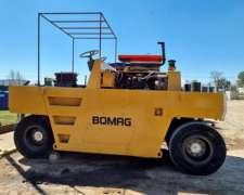 Compactador Neumático Bomag BW 20r 12,5 TN Tomamos Permutas