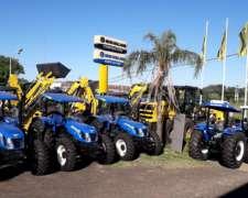 Tractores Agricolas NH - Nuevos