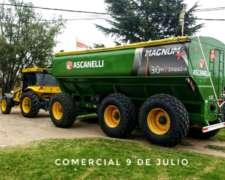 Autodescargable Ascanelli 30 TN - Balancín.