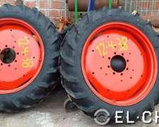 Ruedas Armadas Tractor Deutz 12-4-38.