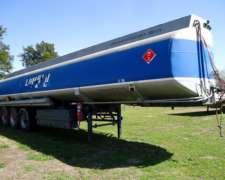 Tanque de Combustible de Aluminio 38.000l. Cubiertas Nuevas