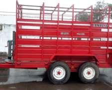 Carros Vaqueros/trailer Cod.ccv-1,2 Y 3 Con Balanza