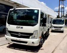Dfm T 01 Doble Cabina Motor Nissan 140hp, 4,3 Toneladas MY18